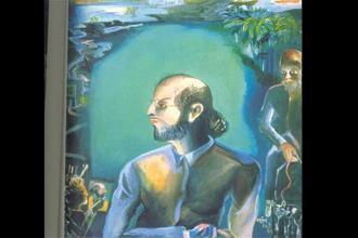 Khakhar's Salman Rushdie (The Moor) 1995